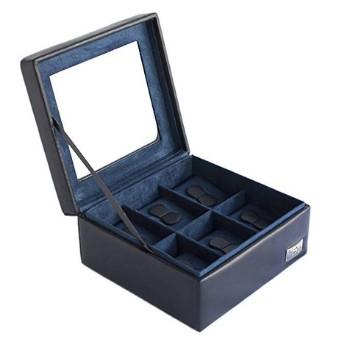 cajas para guardar relojes cuadrada con terciopelo
