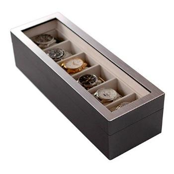 caja de diseño para guardar relojes