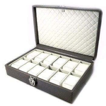 cajas para guardar relojes acolchadas
