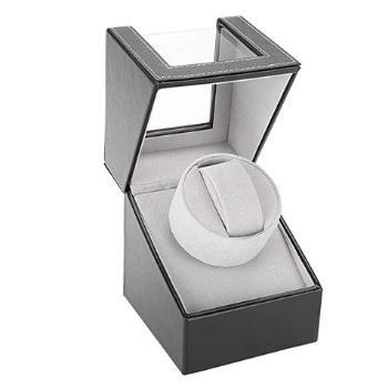 caja para reloj automatico de madera color ceniza