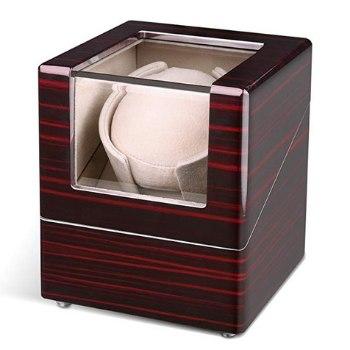 caja para relojes automáticos de madera intey