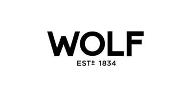Logotipo wolf, watch winders modernos