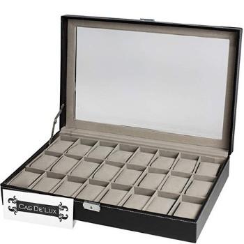 cajas para guardar relojes con cerradura