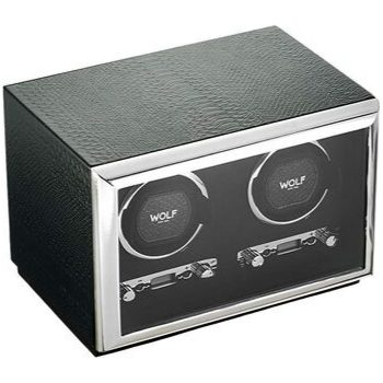 wolf watch winder exotic cargador doble
