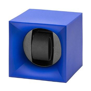 cajas giratorias para relojes automaticos Swiss Kubik ABS Azul