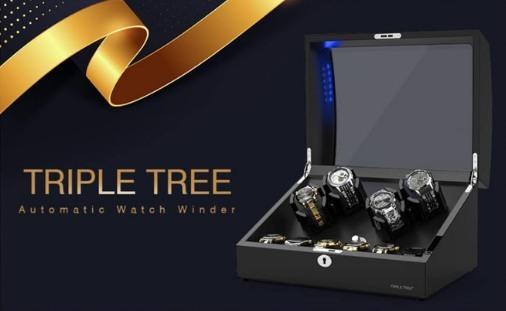 Triple Tree Watch Winder automático
