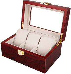 Relojero de madera clásico Utem